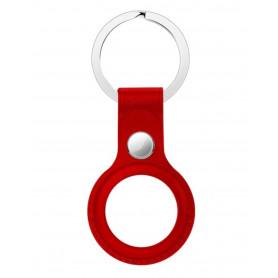 Porte-Clés En Cuir Apple Rouge pour AirTag (Origine)
