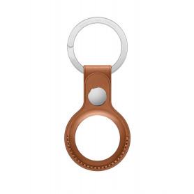 Porte-Clés En Cuir Apple Marron pour AirTag (Origine)