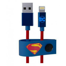 Câble USB / Lightning Superman TRIBE - 1.2 M (MFi)