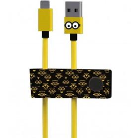 Câble USB / Lightning Minions Tom TRIBE - 1.2 M (MFi)