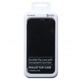 Etui Rabat Portefeuille Magnétique ANYMODE pour Samsung A10 (Designed for Samsung)