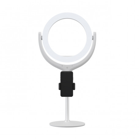 Support Anneau Lumineux 40cm avec LED Ring Light 8'' Devia - Blanc
