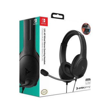 Casque Filaire SWITCH PDP LVL40