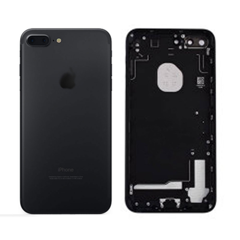 ch ssis coque arri re iphone 7 plus noir ch ssis logo imei smart gadget home lcd. Black Bedroom Furniture Sets. Home Design Ideas