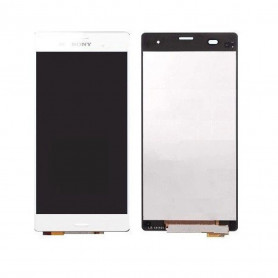 Écran complet Sony Xperia Z3 (D6603) Blanc ( LCD + Tactile + Châssis )
