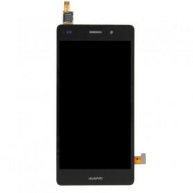 Huawei P8 Lite -  écran LCD Original + Vitre Tactile sur Chassis - Noir