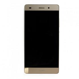 Ecran Huawei P8 Lite Or LCD+ Vitre Tactile sur Chassis Original