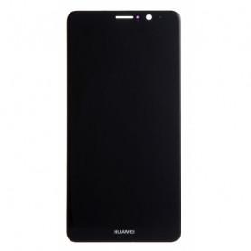 Huawei Mate 9 ORIGINE Ecran LCD + Vitre Tactile Sur Châssis - Noir