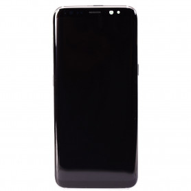 Écran complet Samsung Galaxy S8 (G950F) Argent Polaire ( LCD + Tactile + Châssis )