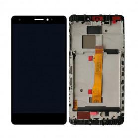Ecran Complet Huawei Mate S Noir LCD + Vitre Tactile Sur Châssis Original