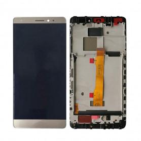 Ecran Complet Huawei Mate S Or LCD + Vitre Tactile Sur Châssis Original
