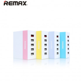 Chargeur Portable Multiport USB 5 Ports 2.4 A max - Remax RU-U1