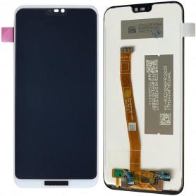 Ecran Huawei P20 Lite (ALE-LX1) Blanc LCD + Vitre Tactile