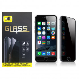 Verre Trempé Glass 2.5D 9H Anti-espion Privacy Protection Ecran Pour iPhone 6/6S/7/8 Plus