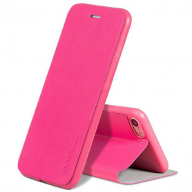 Coque de Protection En Cuir Flip Pour iPhone Samsung - FIB COLOR series