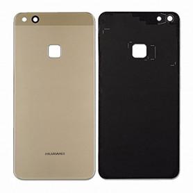 Vitre arrière Huawei P10 Lite Or - Avec logo + Adhésif