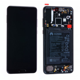 Écran Huawei P20 Pro Noir   LCD + Vitre Tactile - Original