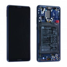 Ecran complet Huawei Mate 10 Pro (BLA-L09) Bleu LCD+ Vitre Tactile Sur Chassis Original