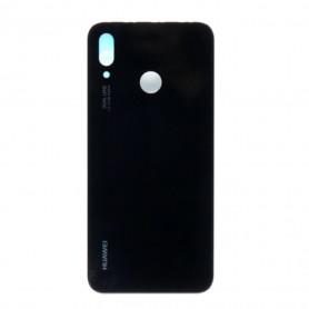 Vitre arrière HUAWEI P20 Lite (ALE-LX1) Noir - Avec Logo + Adhesif