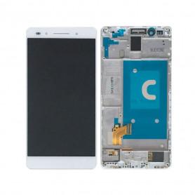 Ecran Huawei Honor 8 Blanc LCD+ Vitre Tactile Sur Chassis Original