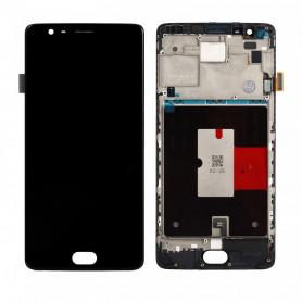 Ecran OnePlus 3 Noir LCD+ Vitre Tactile