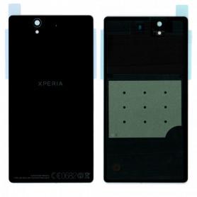 Vitre arrière Sony Xperia Z (C6603) Noir- Avec logo + Adhesif