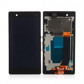 Écran Sony Xperia Z (C6603) Noir LCD + Vitre Tactile Sur Chassis