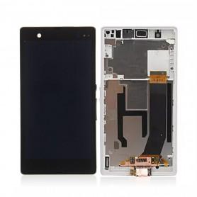 Écran Sony Xperia Z (C6603) Blanc LCD+ Vitre Tactile Sur Chassis