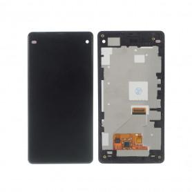 Écran complet Sony Xperia Z1 Compact (D5503) Noir LCD+ Vitre Tactile Sur Chassis