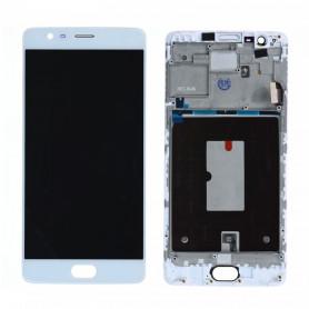 Ecran OnePlus 3 Noir LCD+ Vitre Tactile Sur Chassis Original