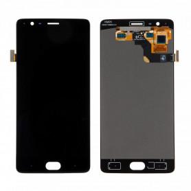 Ecran OnePlus 3T Noir LCD + Vitre Tactile Original