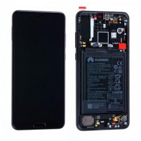 Écran Huawei P20 Pro Violet Twilight  LCD + Vitre Tactile - Original
