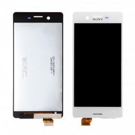 Écran Sony Xperia X (F5121) Blanc LCD + Vitre Tactile