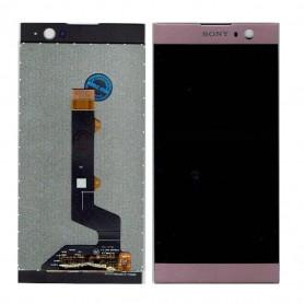 Écran Sony Xperia XA2 (H3113) Rose LCD + Vitre Tactile