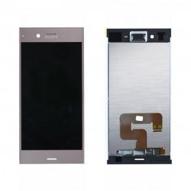Écran Sony Xperia XZ1 (G8343) Rose LCD + Vitre Tactile