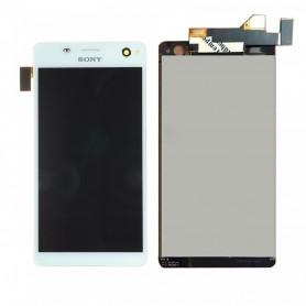 Écran Sony Xperia C4 (E5303) Blanc LCD + Vitre Tactile
