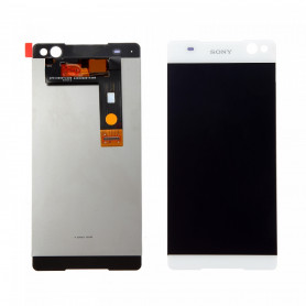 Écran Sony Xperia C5 Ultra (E5553) Blanc LCD + Vitre Tactile