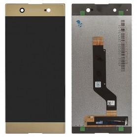 Écran Sony Xperia XA1 Ultra (G3221) Or LCD + Vitre Tactile