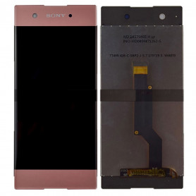 Écran Sony Xperia XA1 (G3121) Rose LCD + Vitre Tactile