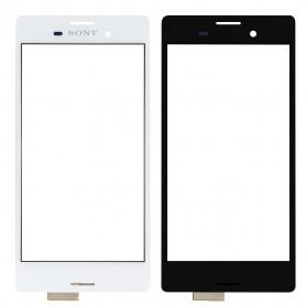 Vitre Tactile Sony Xperia M4 Aqua (E2353)  Blanc