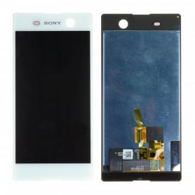Écran Sony Xperia M5 (E5603) Blanc LCD + Vitre Tactile