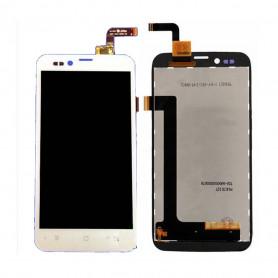 Ecran Archos 50 Platinum Blanc LCD + Vitre Tactile