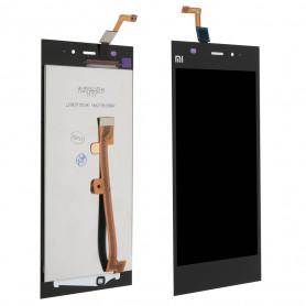 Ecran Xiaomi Mi3 Noir Vitre Tactile + LCD