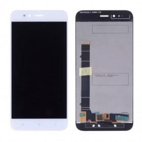 Ecran Xiaomi Mi A1 Blanc Vitre Tactile + LCD