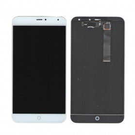 Ecran Meizu MX4 Blanc Vitre Tactile + LCD