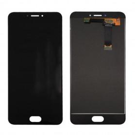 Ecran Meizu MX6 Noir Vitre Tactile + LCD