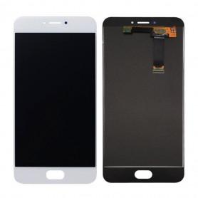 Ecran Meizu MX6 Blanc Vitre Tactile + LCD