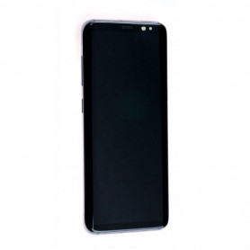 Écran complet Samsung Galaxy S8 (G950F) Noir Carbone ( LCD + Tactile + Châssis )