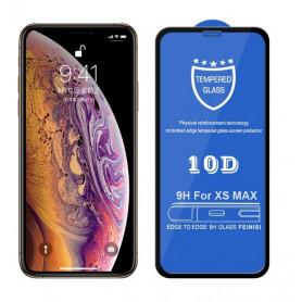 10D Pleine Couverture En Verre Trempé Film Pour iPhone X/XS/XR/XS Max
