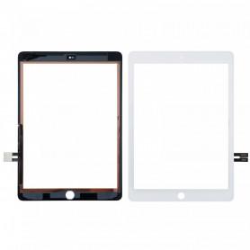 "Vitre tactile iPad 2018 9.7"" (6e Gen) Blanc Origine"